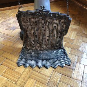 1920s Whiting & Davis mesh bag